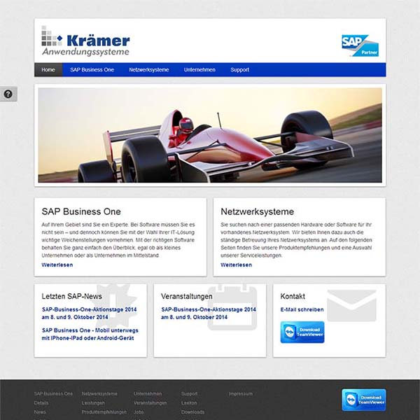 Kraemerweb.de Screenshot